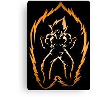 The Power of the Super Saiyan Canvas Print