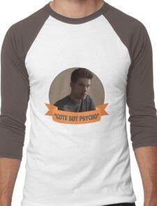 *Cute but Psycho* [Theo Raeken] Men's Baseball ¾ T-Shirt
