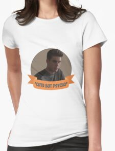 *Cute but Psycho* [Theo Raeken] Womens Fitted T-Shirt