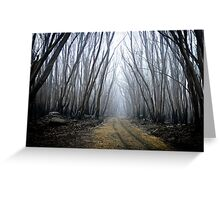 Wounded Woodland  Greeting Card
