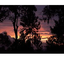 Sunset, Nilgiri Hills Photographic Print