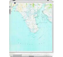 USGS TOPO Map Alaska AK Nushagak Bay 361272 1951 250000 iPad Case/Skin