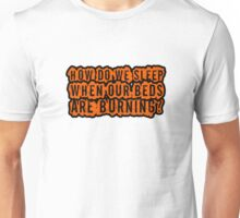 Beds Are Burning Song Lyrics Cool Political Quote Unisex T-Shirt