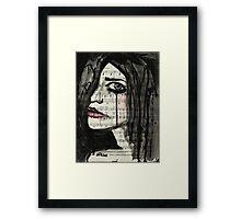 Weep Framed Print