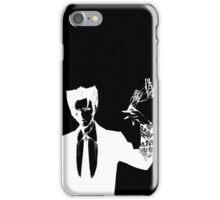Monogatari - Kaiki Nisemono (White) iPhone Case/Skin
