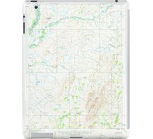USGS TOPO Map Alaska AK Noatak D-3 358048 1955 63360 iPad Case/Skin