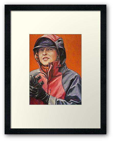 Gai Waterhouse: 'The Lady Trainer' 2012 Ⓒ by Elizabeth Moore Golding