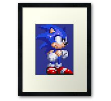 Sonic the Hedgehog Framed Print