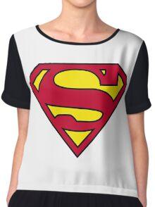 SUPERMAN Chiffon Top