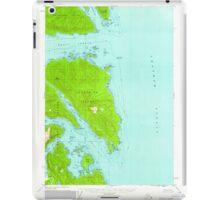 USGS TOPO Map Alaska AK Sitka B-3 359107 1951 63360 iPad Case/Skin