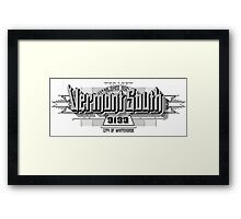 Vermont South Framed Print