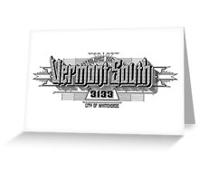 Vermont South Greeting Card