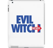 EVIL WITCH - NEVER HILLARY iPad Case/Skin