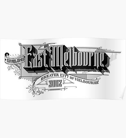 East Melbourne Poster