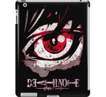 cool grunge death note iPad Case/Skin