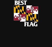 Best Flag, White on Black Unisex T-Shirt