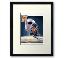 BIG WALL-E Framed Print