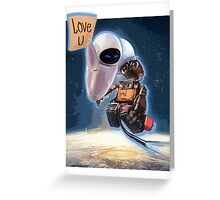 BIG WALL-E Greeting Card