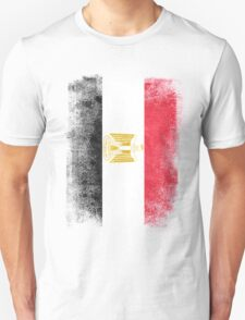 Egypt Flag Proud Egyptian Vintage Distressed Unisex T-Shirt