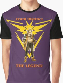 pokemon go fairy tail team instinct Graphic T-Shirt