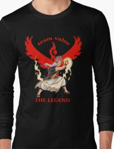 pokemon go team valor fairy tail Long Sleeve T-Shirt