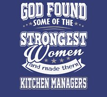 JOB - The Strongest Women - Kitchen Managers T - shirt - Special design and lovely Unisex T-Shirt