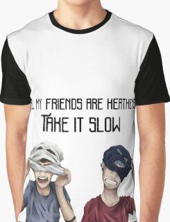 Twenty One Pilots - Heathens Graphic T-Shirt