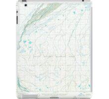 USGS TOPO Map Alaska AK Mount Michelson D-4 357844 1955 63360 iPad Case/Skin