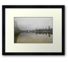 Lost lagoon Vancouver Framed Print