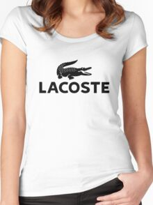 lacoste Women's Fitted Scoop T-Shirt