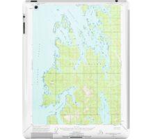 USGS TOPO Map Alaska AK Port Alexander B-1 358465 1953 63360 iPad Case/Skin