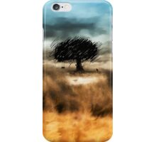 Little tree and Birds  iPhone Case/Skin
