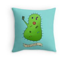Cellfie Throw Pillow