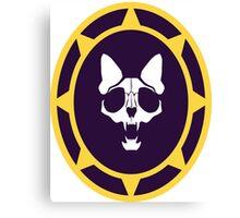 Murder Monarch starburst emblem Canvas Print