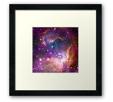 Small Magellanic cloud fragment Framed Print