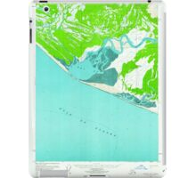 USGS TOPO Map Alaska AK Yakutat A-2 360474 1959 63360 iPad Case/Skin