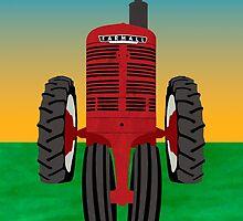 Farmall International Harvester  by Kadwell