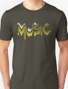 Music Soundwave 3 Unisex T-Shirt