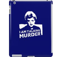 I Am Talking Murder iPad Case/Skin