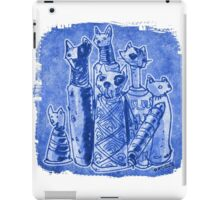 cat mummies iPad Case/Skin