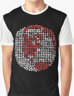 Poket Monsters Globe Graphic T-Shirt