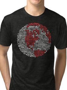 Poket Monsters Globe Tri-blend T-Shirt