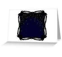 Pixel Sky- Night Greeting Card