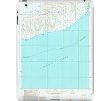 USGS TOPO Map Alaska AK Unimak B-2 360232 1989 63360 iPad Case/Skin
