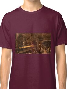 Old Railway Through Cuenca Classic T-Shirt