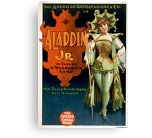 Aladdin Jr 1 - Strobridge - 1894 Canvas Print