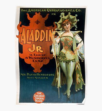 Aladdin Jr 1 - Strobridge - 1894 Poster