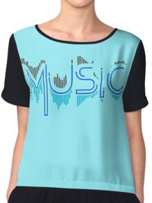 Music Soundwave 4 Chiffon Top