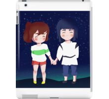 Spirited Away- Chihiro and Haku iPad Case/Skin