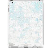 USGS TOPO Map Alaska AK Meade River A-4 357410 1955 63360 iPad Case/Skin